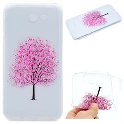 Petals Tree Super Clear Soft TPU Back Cover for Samsung Galaxy J3 2017 Emerge US Edition