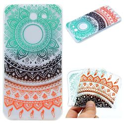Tribe Flower Super Clear Soft TPU Back Cover for Samsung Galaxy J3 2017 Emerge US Edition