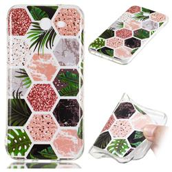 Rainforest Soft TPU Marble Pattern Phone Case for Samsung Galaxy J3 2017 Emerge US Edition
