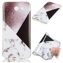 Black white Grey Soft TPU Marble Pattern Phone Case for Samsung Galaxy J3 2017 Emerge US Edition