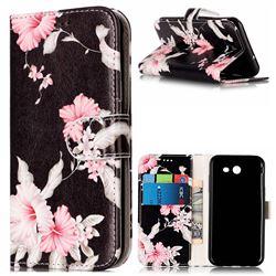 Azalea Flower PU Leather Wallet Case for Samsung Galaxy J3 2017 Emerge