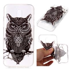 Staring Owl Super Clear Soft TPU Back Cover for Samsung Galaxy J3 2017 J330 Eurasian