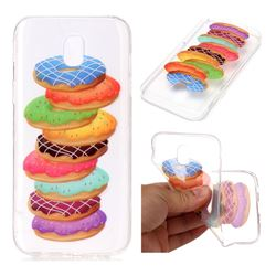Melaleuca Donuts Super Clear Soft TPU Back Cover for Samsung Galaxy J3 2017 J330 Eurasian