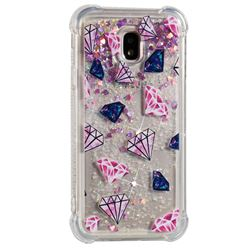 Diamond Dynamic Liquid Glitter Sand Quicksand Star TPU Case for Samsung Galaxy J3 2017 J330 Eurasian