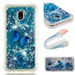 Flower Butterfly Dynamic Liquid Glitter Sand Quicksand Star TPU Case for Samsung Galaxy J3 2017 J330 Eurasian