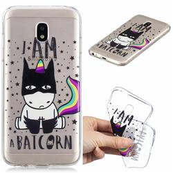 Batman Clear Varnish Soft Phone Back Cover for Samsung Galaxy J3 2017 J330 Eurasian