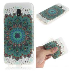 Peacock Mandala IMD Soft TPU Cell Phone Back Cover for Samsung Galaxy J3 2017 J330 Eurasian