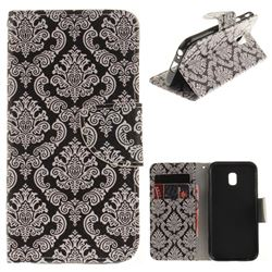 Totem Flowers PU Leather Wallet Case for Samsung Galaxy J3 2017 J330 Eurasian