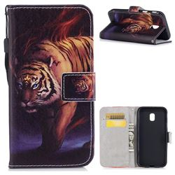 Mighty Tiger PU Leather Wallet Case for Samsung Galaxy J3 2017 J330 Eurasian