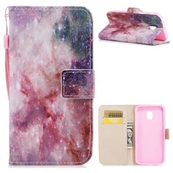 Cosmic Stars PU Leather Wallet Case for Samsung Galaxy J3 2017 J330 Eurasian