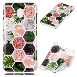 Rainforest Soft TPU Marble Pattern Phone Case for Samsung Galaxy J3 (2018)