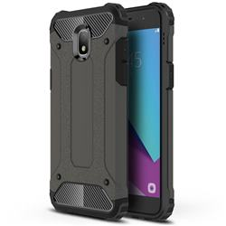 King Kong Armor Premium Shockproof Dual Layer Rugged Hard Cover for Samsung Galaxy J3 (2018) - Bronze