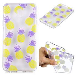 Carton Pineapple Super Clear Soft TPU Back Cover for Samsung Galaxy J4 (2018) SM-J400F