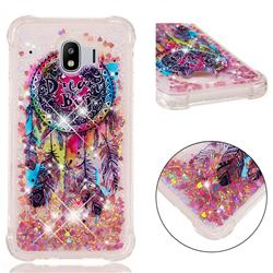 Seal Wind Chimes Dynamic Liquid Glitter Sand Quicksand Star TPU Case for Samsung Galaxy J4 (2018) SM-J400F