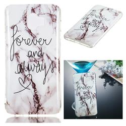 Forever Soft TPU Marble Pattern Phone Case for Samsung Galaxy J4 (2018) SM-J400F