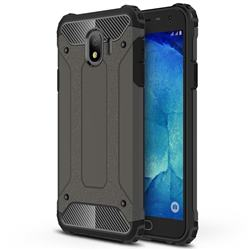 King Kong Armor Premium Shockproof Dual Layer Rugged Hard Cover for Samsung Galaxy J4 (2018) SM-J400F - Bronze