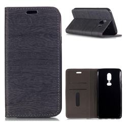 Tree Bark Pattern Automatic suction Leather Wallet Case for Samsung Galaxy J4 (2018) SM-J400F - Gray