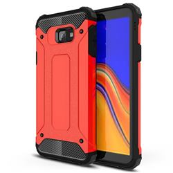 King Kong Armor Premium Shockproof Dual Layer Rugged Hard Cover for Samsung Galaxy J4 Core - Big Red