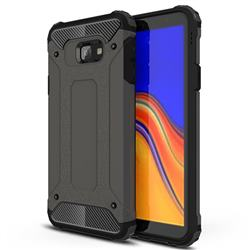 King Kong Armor Premium Shockproof Dual Layer Rugged Hard Cover for Samsung Galaxy J4 Core - Bronze