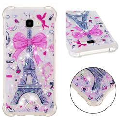 Mirror and Tower Dynamic Liquid Glitter Sand Quicksand Star TPU Case for Samsung Galaxy J4 Plus(6.0 inch)