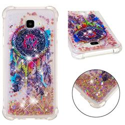 Seal Wind Chimes Dynamic Liquid Glitter Sand Quicksand Star TPU Case for Samsung Galaxy J4 Plus(6.0 inch)