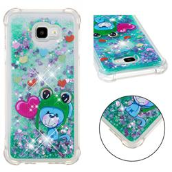 Heart Frog Lion Dynamic Liquid Glitter Sand Quicksand Star TPU Case for Samsung Galaxy J4 Plus(6.0 inch)