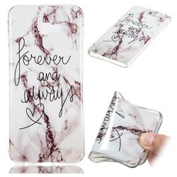 Forever Soft TPU Marble Pattern Phone Case for Samsung Galaxy J4 Plus(6.0 inch)