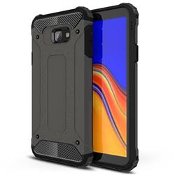 King Kong Armor Premium Shockproof Dual Layer Rugged Hard Cover for Samsung Galaxy J4 Plus(6.0 inch) - Bronze