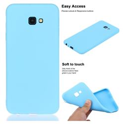 Soft Matte Silicone Phone Cover for Samsung Galaxy J4 Plus(6.0 inch) - Sky Blue
