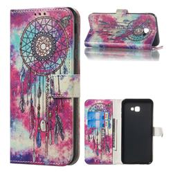 Butterfly Chimes PU Leather Wallet Case for Samsung Galaxy J4 Plus(6.0 inch)