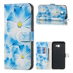 Orchid Flower PU Leather Wallet Case for Samsung Galaxy J4 Plus(6.0 inch)