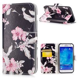 Azalea Flower PU Leather Wallet Case for Samsung Galaxy J5 2015 J500