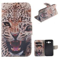 Puma PU Leather Wallet Case for Samsung Galaxy J5 2015 J500