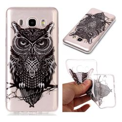 Staring Owl Super Clear Soft TPU Back Cover for Samsung Galaxy J5 2016 J510