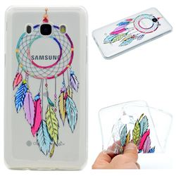 Rainbow Campanula Super Clear Soft TPU Back Cover for Samsung Galaxy J5 2016 J510