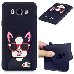 Glasses Gog Soft 3D Silicone Case for Samsung Galaxy J5 2016 J510