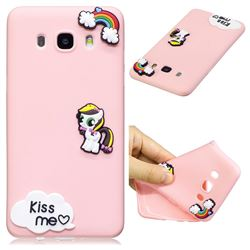 Kiss me Pony Soft 3D Silicone Case for Samsung Galaxy J5 2016 J510