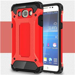 King Kong Armor Premium Shockproof Dual Layer Rugged Hard Cover for Samsung Galaxy J5 2016 J510 - Big Red