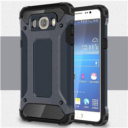 King Kong Armor Premium Shockproof Dual Layer Rugged Hard Cover for Samsung Galaxy J5 2016 J510 - Navy