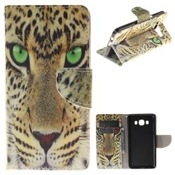 Yellow Tiger PU Leather Wallet Case for Samsung Galaxy J5 2016 J510