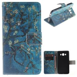 Apricot Tree PU Leather Wallet Case for Samsung Galaxy J5 2016 J510