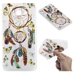 Color Wind Chimes 3D Relief Matte Soft TPU Back Cover for Samsung Galaxy J5 2017 US Edition