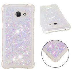 Dynamic Liquid Glitter Sand Quicksand Star TPU Case for Samsung Galaxy J5 2017 US Edition - Pink