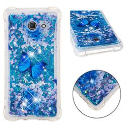 Flower Butterfly Dynamic Liquid Glitter Sand Quicksand Star TPU Case for Samsung Galaxy J5 2017 US Edition