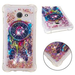 Seal Wind Chimes Dynamic Liquid Glitter Sand Quicksand Star TPU Case for Samsung Galaxy J5 2017 US Edition