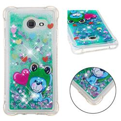 Heart Frog Lion Dynamic Liquid Glitter Sand Quicksand Star TPU Case for Samsung Galaxy J5 2017 US Edition
