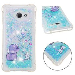 Bubble Jumbo Rabbit Dynamic Liquid Glitter Sand Quicksand Star TPU Case for Samsung Galaxy J5 2017 US Edition