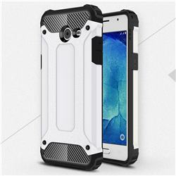 King Kong Armor Premium Shockproof Dual Layer Rugged Hard Cover for Samsung Galaxy J5 2017 US Edition - White