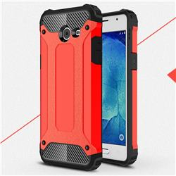 King Kong Armor Premium Shockproof Dual Layer Rugged Hard Cover for Samsung Galaxy J5 2017 US Edition - Big Red