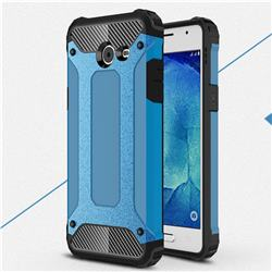 King Kong Armor Premium Shockproof Dual Layer Rugged Hard Cover for Samsung Galaxy J5 2017 US Edition - Sky Blue